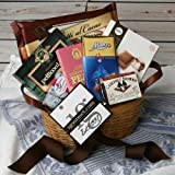 Gourmet Gift Basket of International Sweets (21.5 ounce)
