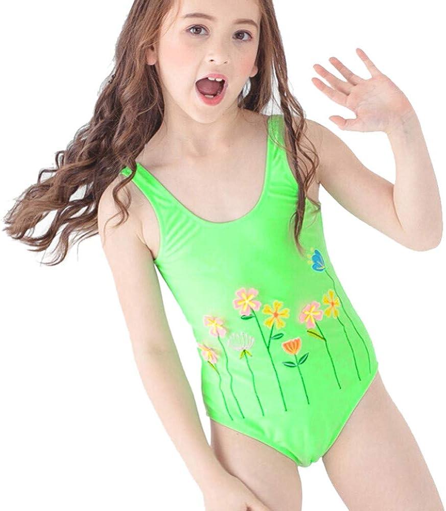 GorNorriss Baby Swimwear Children Kid Girls Swimsuit Cartoon One Piece Bathing Bikini Outfits