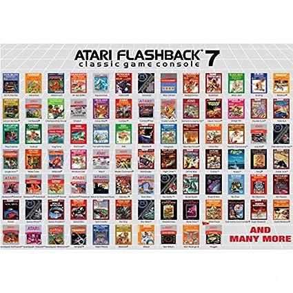 Atari Flashback 7 Console Uk Plug Amazon Co Uk Pc Video Games