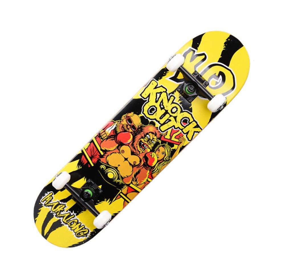 FTYUC Longboard Skateboard Professionale Acero a Quattro Ruote Highway a a a Doppia curvatura Acero Skateboarding B07L9X5FZ4 Parent   Economico E Pratico    Alla Moda    Autentico    marchio    Eccezionale    Colore Brillantezza  138ef5