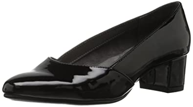 Aerosoles Women's Launchpad Dress Pump, Black Patent, ...