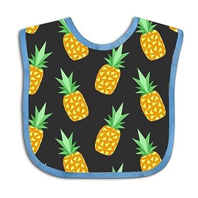 3048df2798a9e Amazon.com: Pineapple Baby Bandana Drool Bibs for Girl Soft Cotton ...