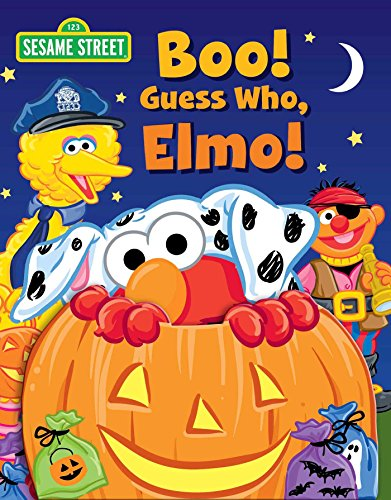 Sesame Street: Boo! Guess Who, Elmo! (Guess Who! Book)