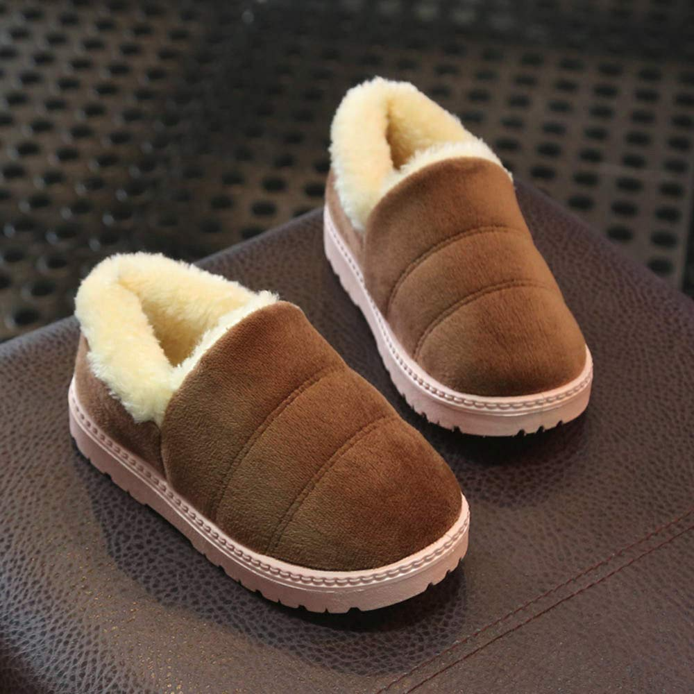 Kids Baby Infant Girls Boys 18 Months-12 Years Solid Animal Winter WarmBoots Snow Boots Shoes Blue ON-123