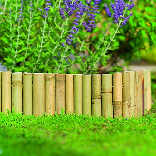 Gardman - Vallado de bambú Natural: Amazon.es: Jardín