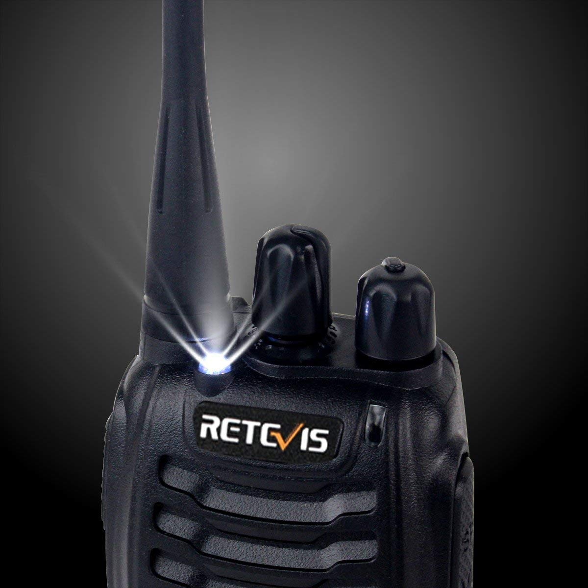 Retevis H-777 Two Way Radios UHF Radio 2 Way Radios Fast and Safe USB Rechargeable 16CH Radio Walkie Talkies (10 Pack) by Retevis (Image #5)