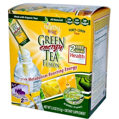 Healthy To Go! Green Tea Fusion 48/SERV by Healthy To Go by Healthy To Go