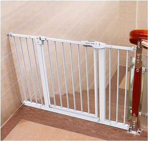 Barrera De Seguridad Puertas De Seguridad Amplia Mascotas Bebé De Valla Escaleras Elevación Con El Niño