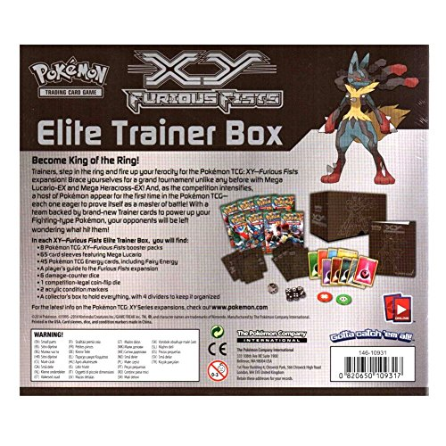 Pokemon: XY Furious Fists Elite Trainer Box