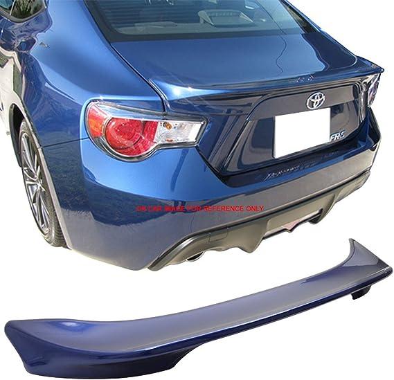 Fits 13-15 FRS 13-14 BRZ TR Trunk Spoiler Painted Galaxy Blue Ultramarine # E8H