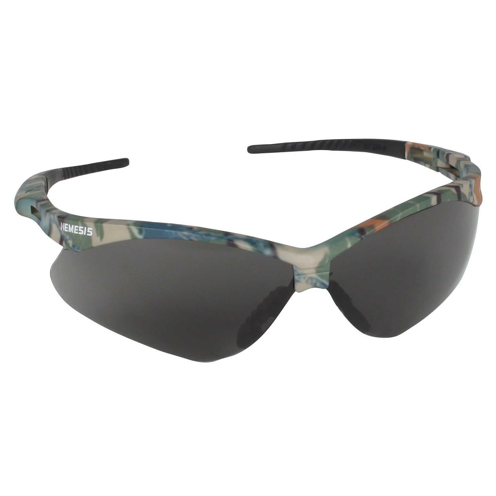 12 Pack Jackson Safety 3020707 V30 Nemesis Safety Glasses Camo Frame / Smoke Anti-Fog Lens(22609) by Allsafe Services & Materials (Image #2)