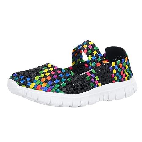 Al Mujer Deporte Zhrui Zapatos Deportivos De Aire Zapatillas nq6WWz7B