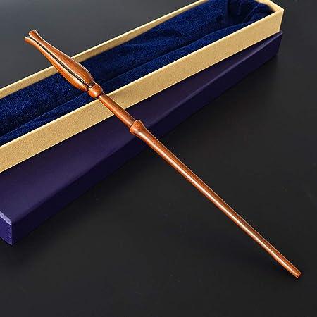 LinkLvoe Umbridge Zauberstab Ebenholzgrat Metallkern Rohr Halloween Requisiten Zauberstab Mit Box