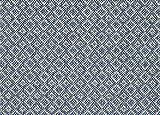 4'x10' Malia Chambray Custom Cut Economy Indoor Outdoor Carpet Patio Area Rugs