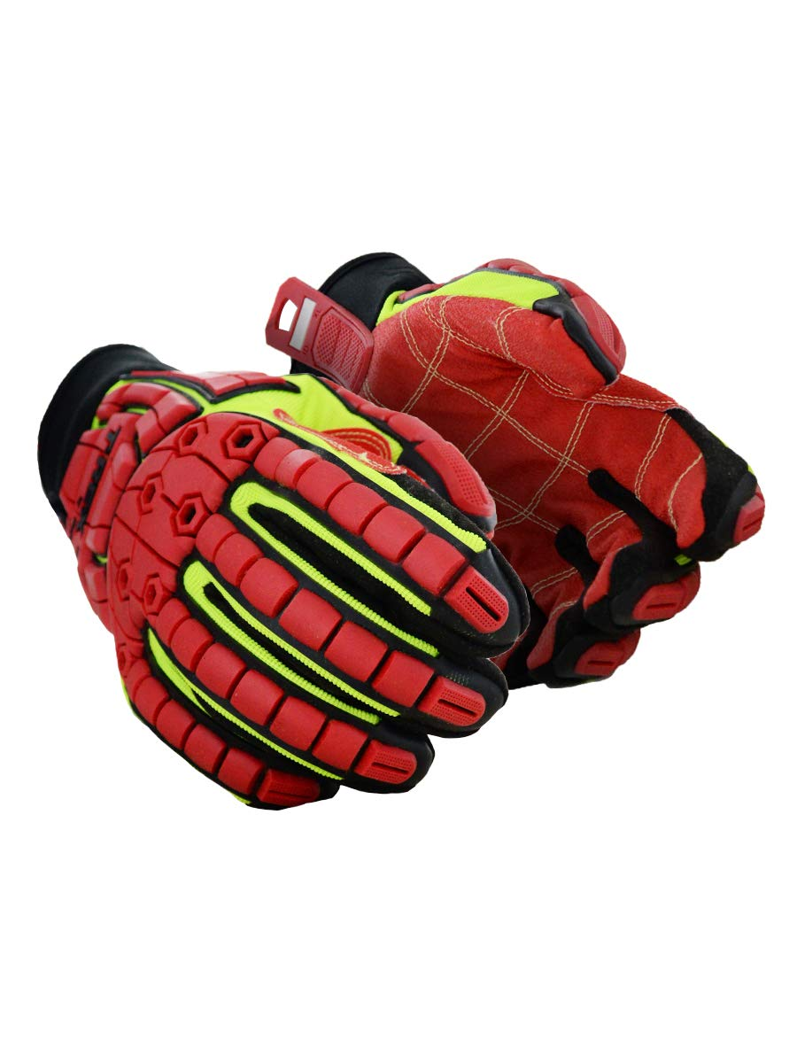 MAGID TRX647XXL Primal Series | Cut Level A4 M-Force Defense TPR Impact Work Gloves, Size 11/XXL, (1 Pair) by Magid Glove & Safety (Image #1)