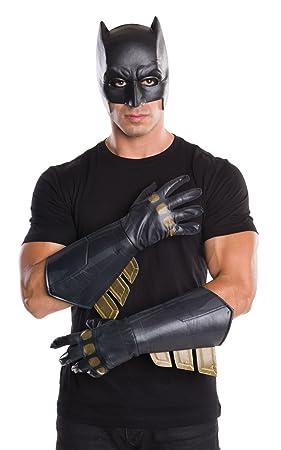 Rubies producto oficial, guantes de Batman, salón de la justicia, accesorio para disfraz, para adulto