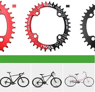 Toygogo Plato Bicicleta Montaña BCD 104 Anillo de Cadena Aluminio ...