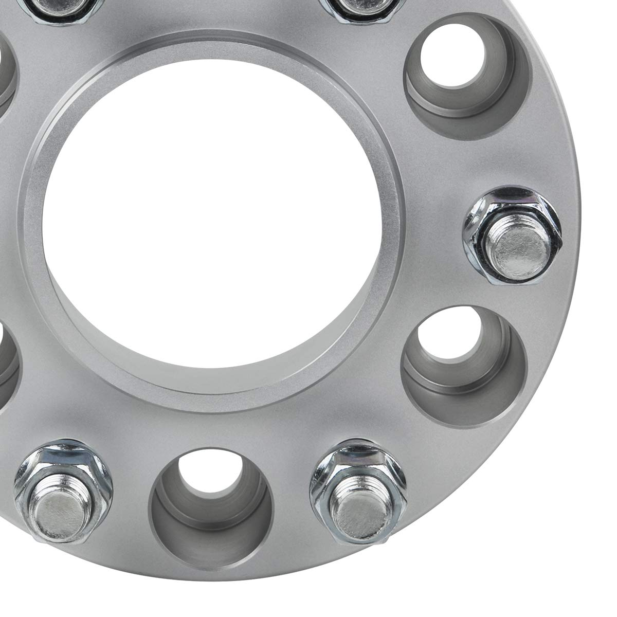 M12x1.5 Studs Supreme Suspensions 2X 1.5 Hub Centric Wheel Spacers for 1995-2018 Toyota Tacoma and 2000-2006 Toyota Tundra 6x5.5 BP 12 Longer Than Stock Wheel Studs Included