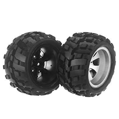 GoolRC Original Wltoys A969 K929 1/18 Rc Car Left Tire A969 01 Part for Wltoys RC Car Part: Toys & Games