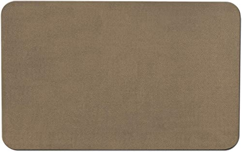 House, Home and More Skid-Resistant Carpet Indoor Area Rug Floor Mat – Camel Tan – 8 Feet X 12 Feet