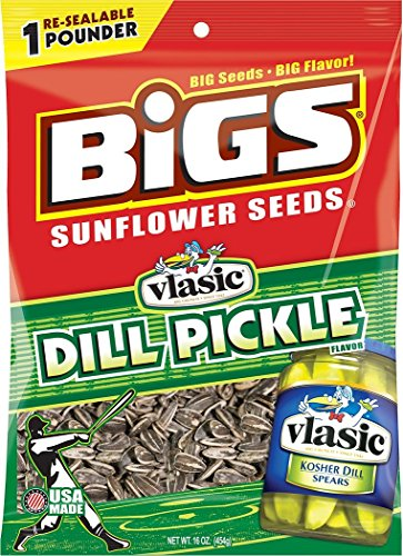 - Bigs Dill Pickle Sunflower Seeds