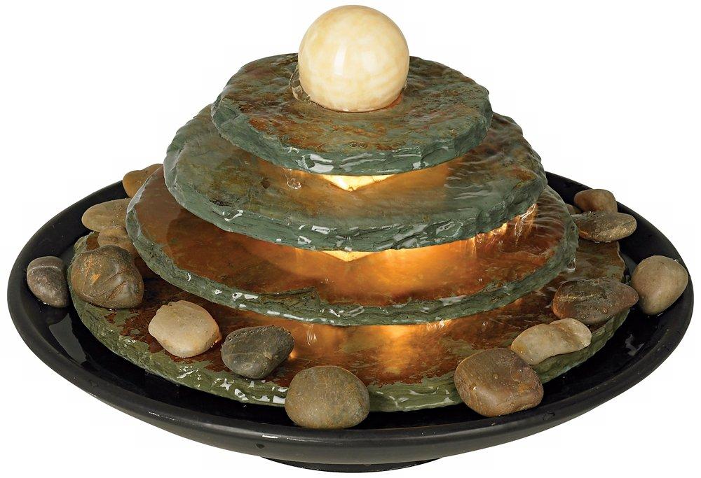 """Amazon.com: Pyramid Feng Shui Ball Lighted 10"""" High Table ..."""