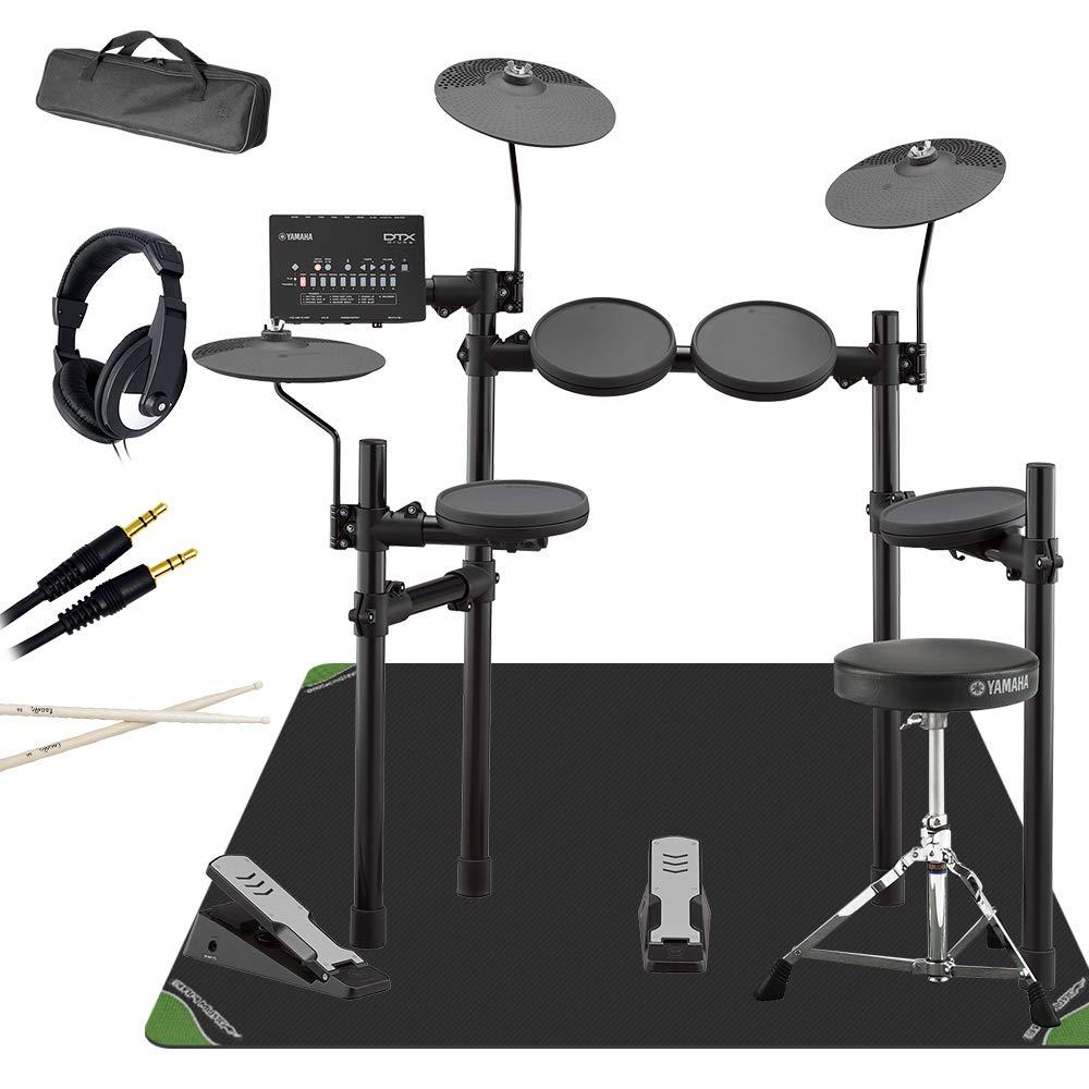 YAMAHA DTX402KS マット付き自宅練習7点セット 電子ドラムセット ヤマハ   B07FVNP14C