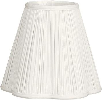 Linen Beige 3.5 x 6 x 5.75 Flame Clip Royal Designs BS-707FC-6LNBG deep Empire Lamp Shade
