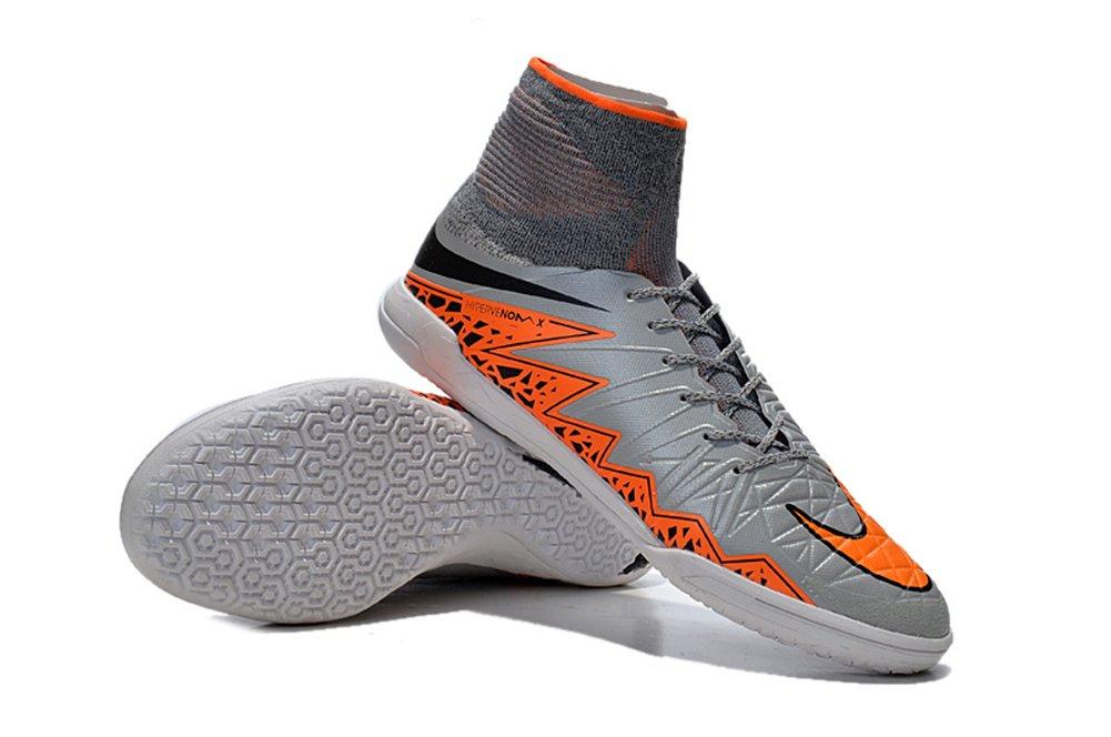 Haovetre Schuhe Herren hypervenomx Proximo IC Fußball Stiefel, Grau