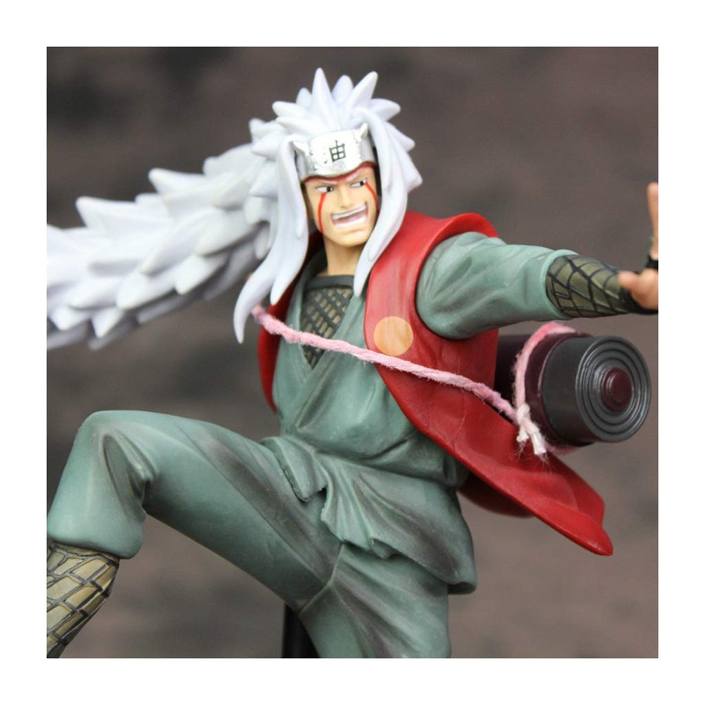 WJP Naruto Decoration Immortal Pattern Knight Character Model Statue Gift Souvenir Crafts Game Anime Fans Collection (16/23CM) ( Color : B )