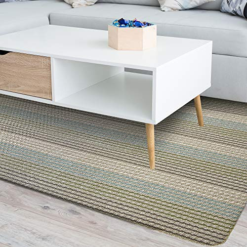 iCustomRug Multi Colored Loop Pile Berber Carpet...