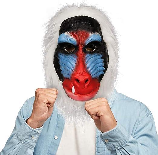 molezu malgache máscara de Babuino, Rey León Rafiki Disfraz ...