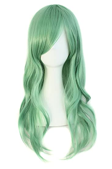 Amazon Com Mapofbeauty 28 70cm Long Curly Hair Ends Costume