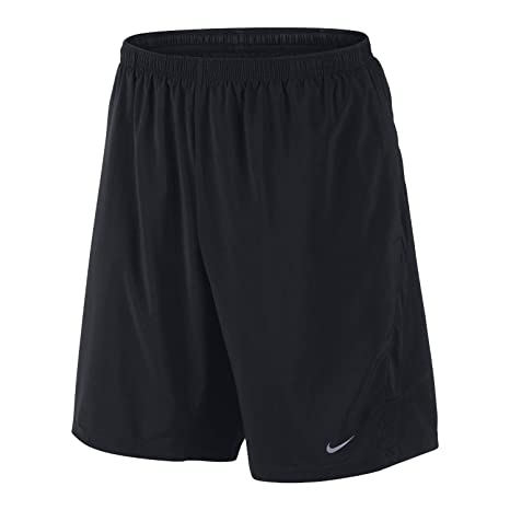 los angeles 996aa 781f2 Amazon.com   Nike Men s 9-inch Distance Running Shorts, Black (2XL)    Sports   Outdoors
