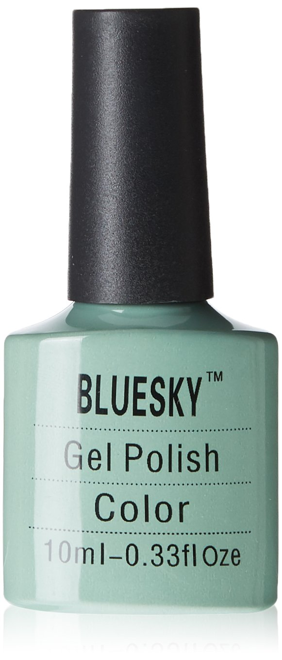 Bluesky UV LED Gel Soak Off Nail Polish, Sage Green: Amazon.co.uk ...