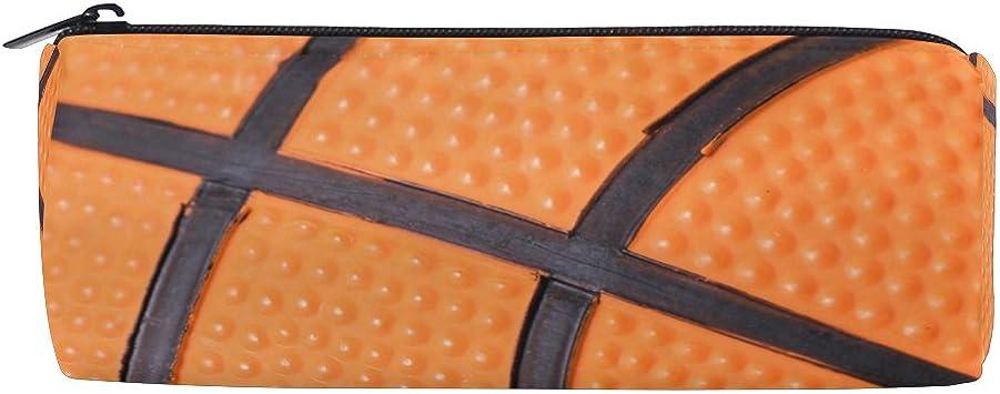 Kids Zipper Pouch Basketball Zipper Bag Boy/'s Pencil Pouch Personalized School Supply Bag Basketball Pencil Case