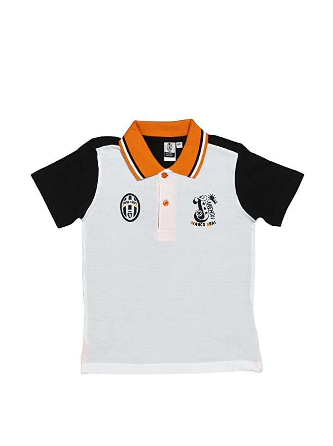 Kids like Calcio Polo Juve Blanco 8-9 años (128/134 cm): Amazon.es ...