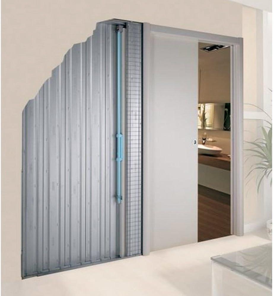 Sistema de puerta de bolsillo Scrigno dinámico automático solo mecanismo Cierrapuertas SL002: Amazon.es: Bricolaje y herramientas