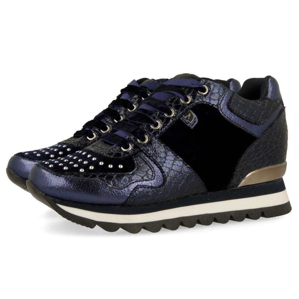 Gioseppo 46085-p, Zapatillas para Mujer 38 EU|Azul