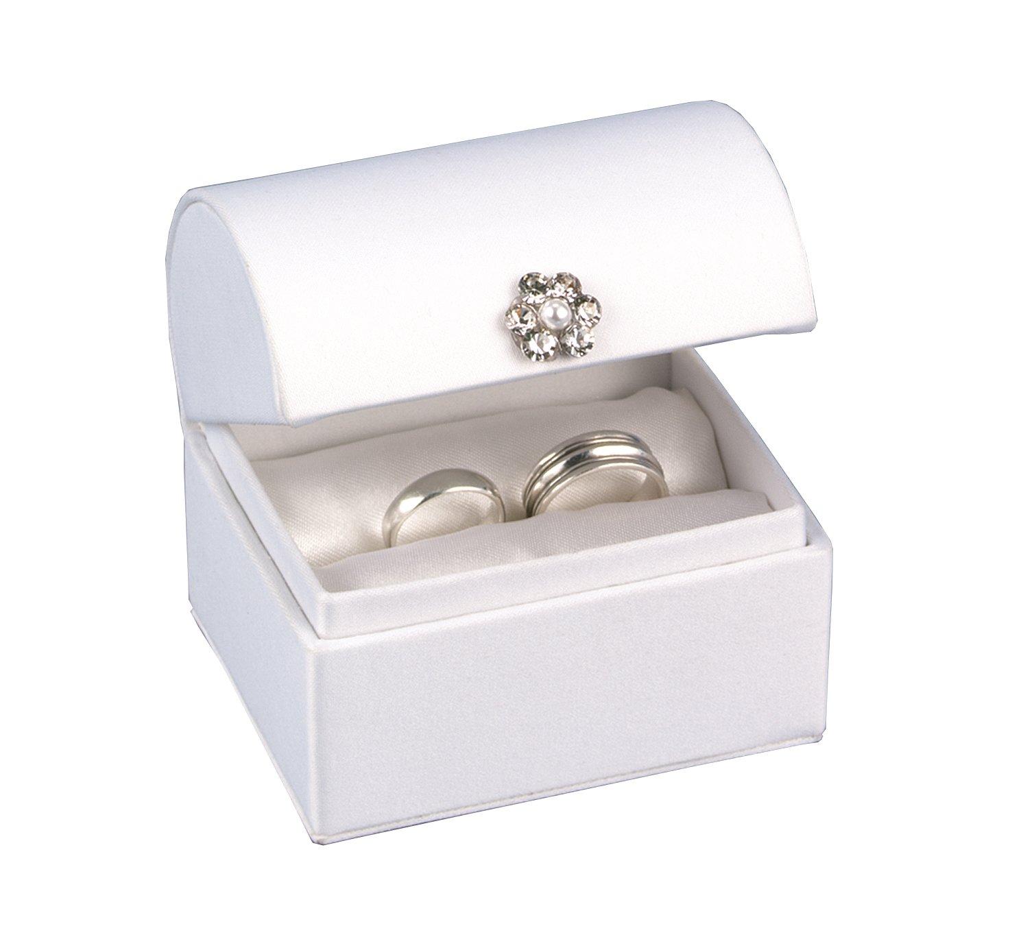 Amazon.com: Hortense B. Hewitt Wedding Accessories White Satin ...