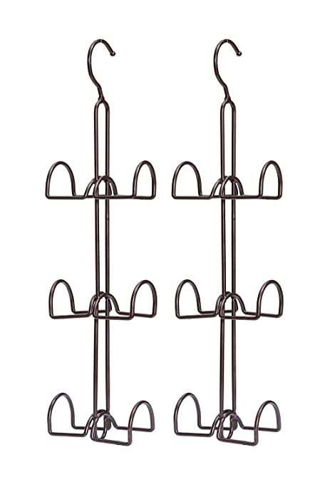STORAGE MANIAC Hanging Closet Hook For Purses, Ties, Belts, Handbags,  Accessories Organizer