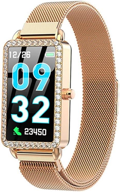 Amazon.com: JJJ - Reloj inteligente para mujer con monitor ...