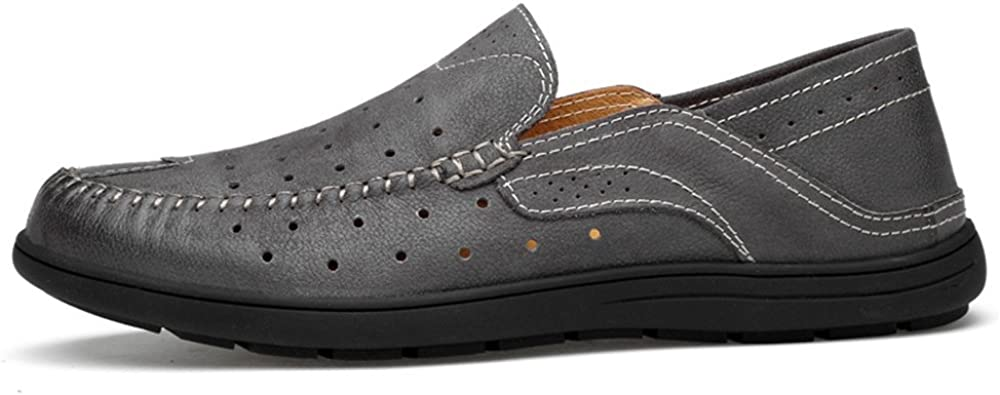 Mens Shoes Mens Driving Penny Loafers Patch Vamp Slip-on Casual Boat Moccasins Soft Rubber Sole Fashion