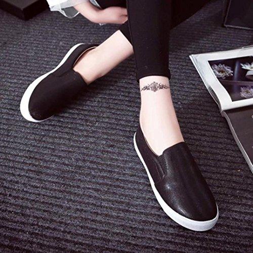 Sandalias para Mujer, RETUROM Zapatos de deportes planos casuales de las nuevas mujeres Negro