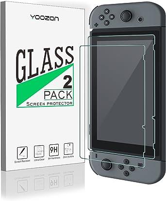 Nintendo Switch Protector de pantalla [2 Unidades], Yoozon ...