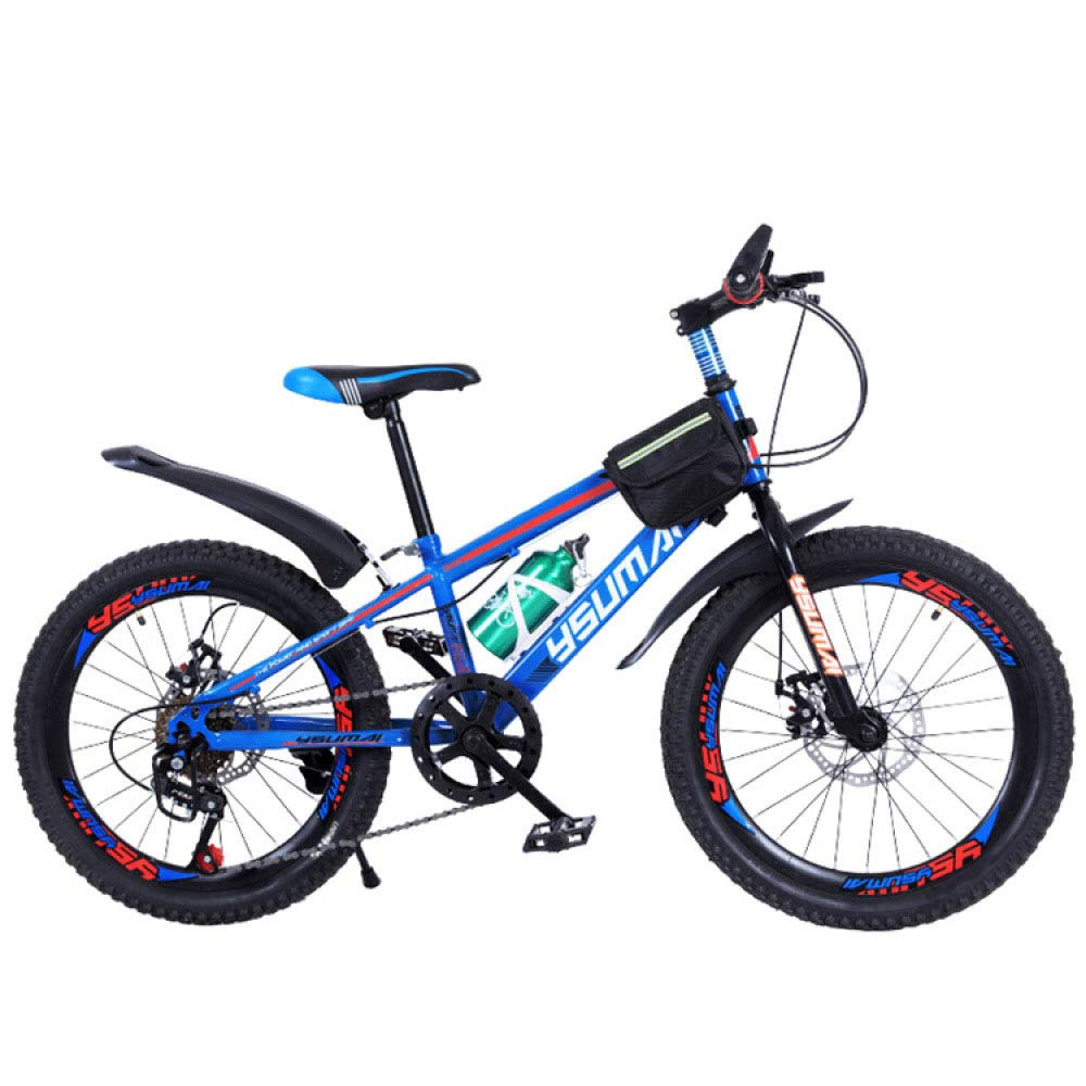 WYTong Bikes for Kids Kids Bike Student Mountain Bike, Male and Female, Single Stroller, Single Speed Bicycle