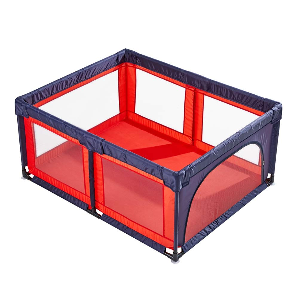 最安価格 ベビーフェンス 子供/幼児、安全携帯プレーヤーのゲームの塀、赤い青い色のための特大の赤ん坊のベビーサークルの演劇場 B07QG4VCSP B07QG4VCSP, 現場の安全 標識保安用品:30c17d45 --- a0267596.xsph.ru