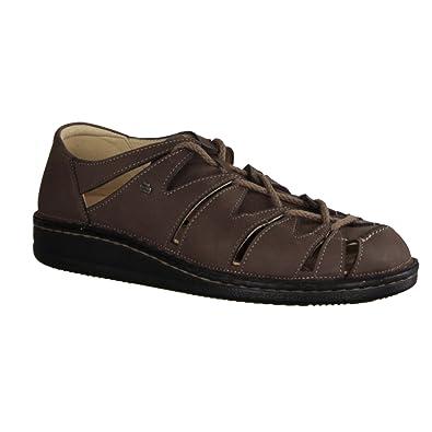 Finn Comfort Malta- Herrenschuhe Sandale/Pantolette Braun Leder (patagoniai)