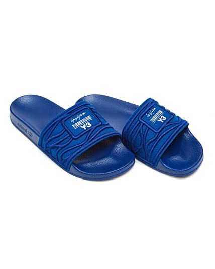 cbe46233c Y-3 Mens Band Scripted Slider 7 Blue Ink  Amazon.co.uk  Shoes   Bags