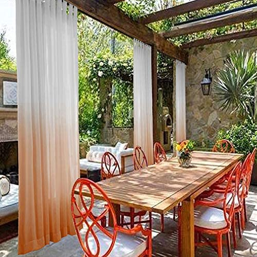 cololeaf Privacy Room Divider Indoor Outdoor Gradient Ombre Premium Curtain Window Treatment Draperies